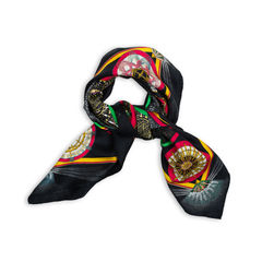 Hermes feux d artifice scarf black 13?1541576596