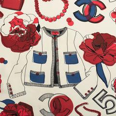 Chanel chanel no5 silk scarf 2?1541576611