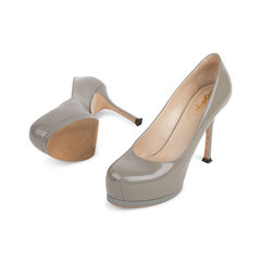 Yves saint laurent tribtoo pumps grey 2?1542018733