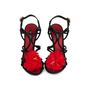 Authentic Pre Owned Dolce & Gabbana Flower Embellished Sandals (PSS-566-00077) - Thumbnail 0