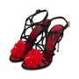 Authentic Pre Owned Dolce & Gabbana Flower Embellished Sandals (PSS-566-00077) - Thumbnail 3