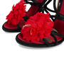 Authentic Pre Owned Dolce & Gabbana Flower Embellished Sandals (PSS-566-00077) - Thumbnail 7