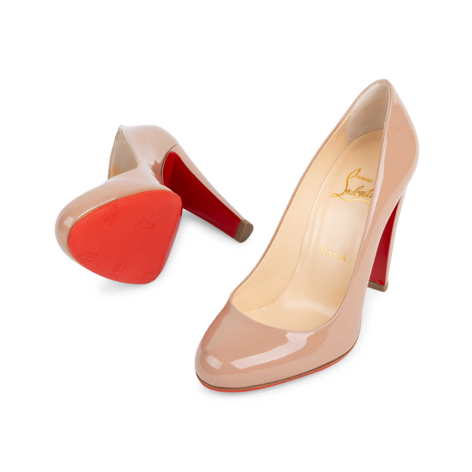 589d5627a16f ... Authentic Second Hand Christian Louboutin Fififa 100 Pumps  (PSS-566-00091) ...