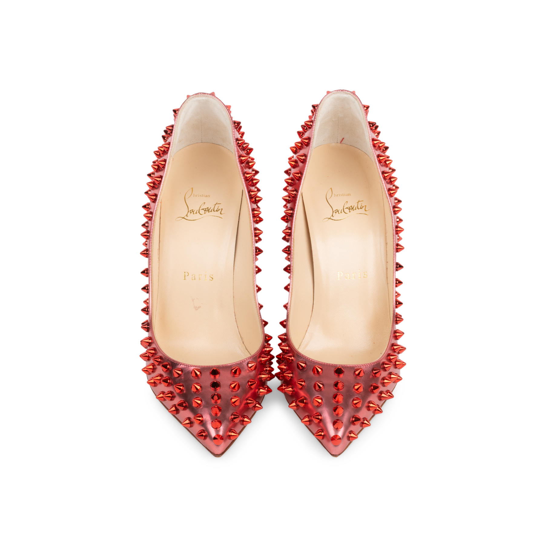 huge discount c98e2 2661c Poppy Follies Spikes 100 Pumps