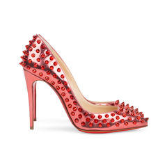 Christian louboutin poppy follies spikes 100 pumps 5?1542018933