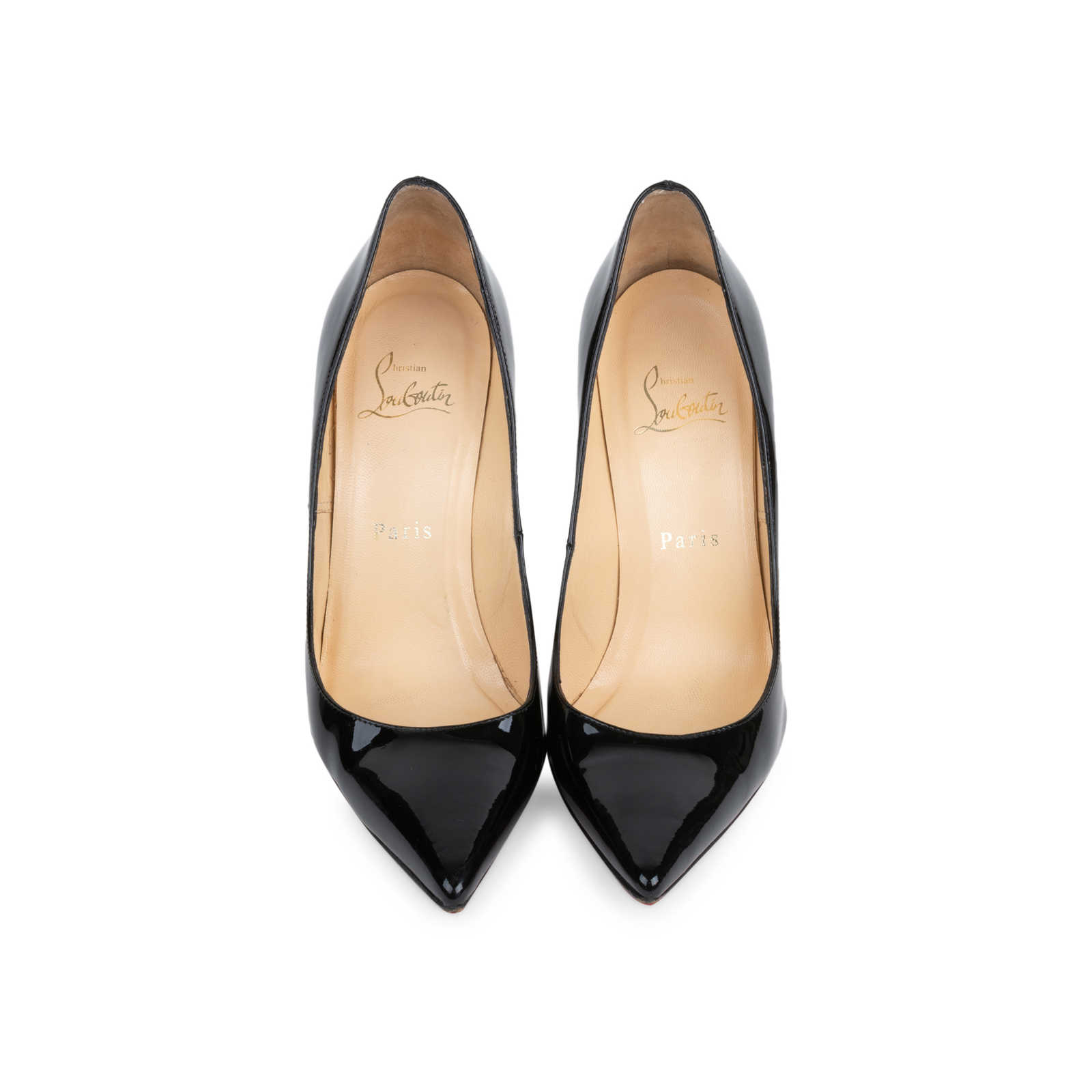 official photos 356fa 98fde Authentic Second Hand Christian Louboutin Decollete 554 100 ...