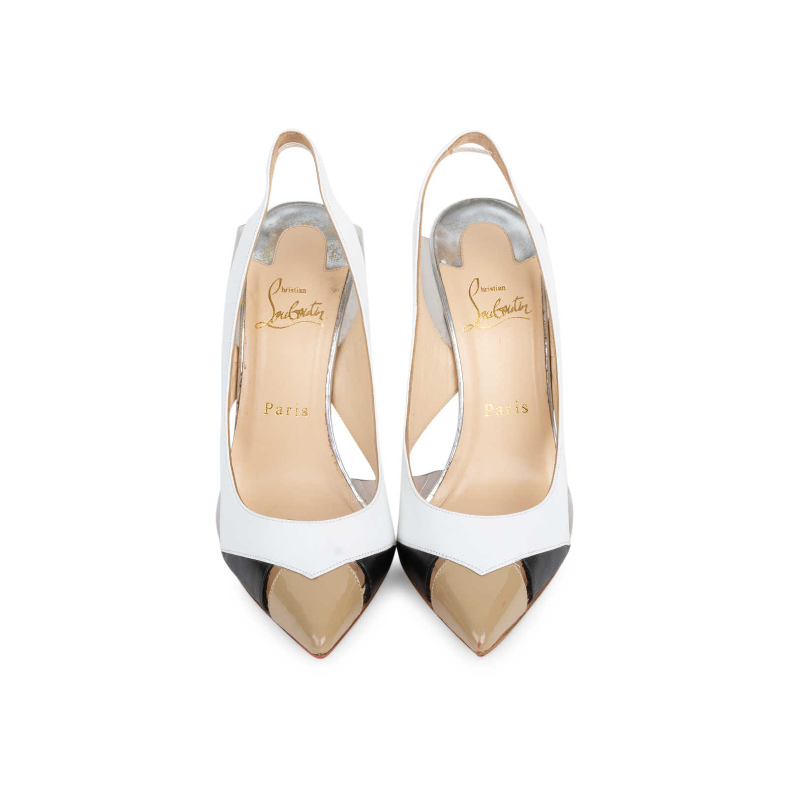 bas prix 30ee7 aa266 Authentic Second Hand Christian Louboutin Air Chance 100 ...