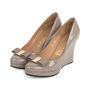 Authentic Pre Owned Salvatore Ferragamo Tosca Wedge Pumps (PSS-566-00100) - Thumbnail 3