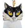 Authentic Second Hand Miu Miu Fur Cat Key Ring (PSS-355-00026) - Thumbnail 3