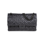 Authentic Pre Owned Chanel So Black Reissue 2.55 (PSS-424-00107) - Thumbnail 0
