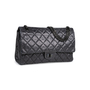 Authentic Pre Owned Chanel So Black Reissue 2.55 (PSS-424-00107) - Thumbnail 1