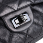 Authentic Pre Owned Chanel So Black Reissue 2.55 (PSS-424-00107) - Thumbnail 4