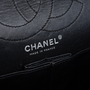 Authentic Pre Owned Chanel So Black Reissue 2.55 (PSS-424-00107) - Thumbnail 5