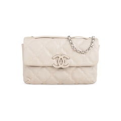 Quilted Stitched Clutch Bag