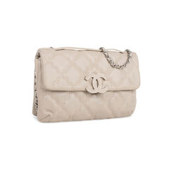 Chanel quilted stitched cluch bag 2?1542084495