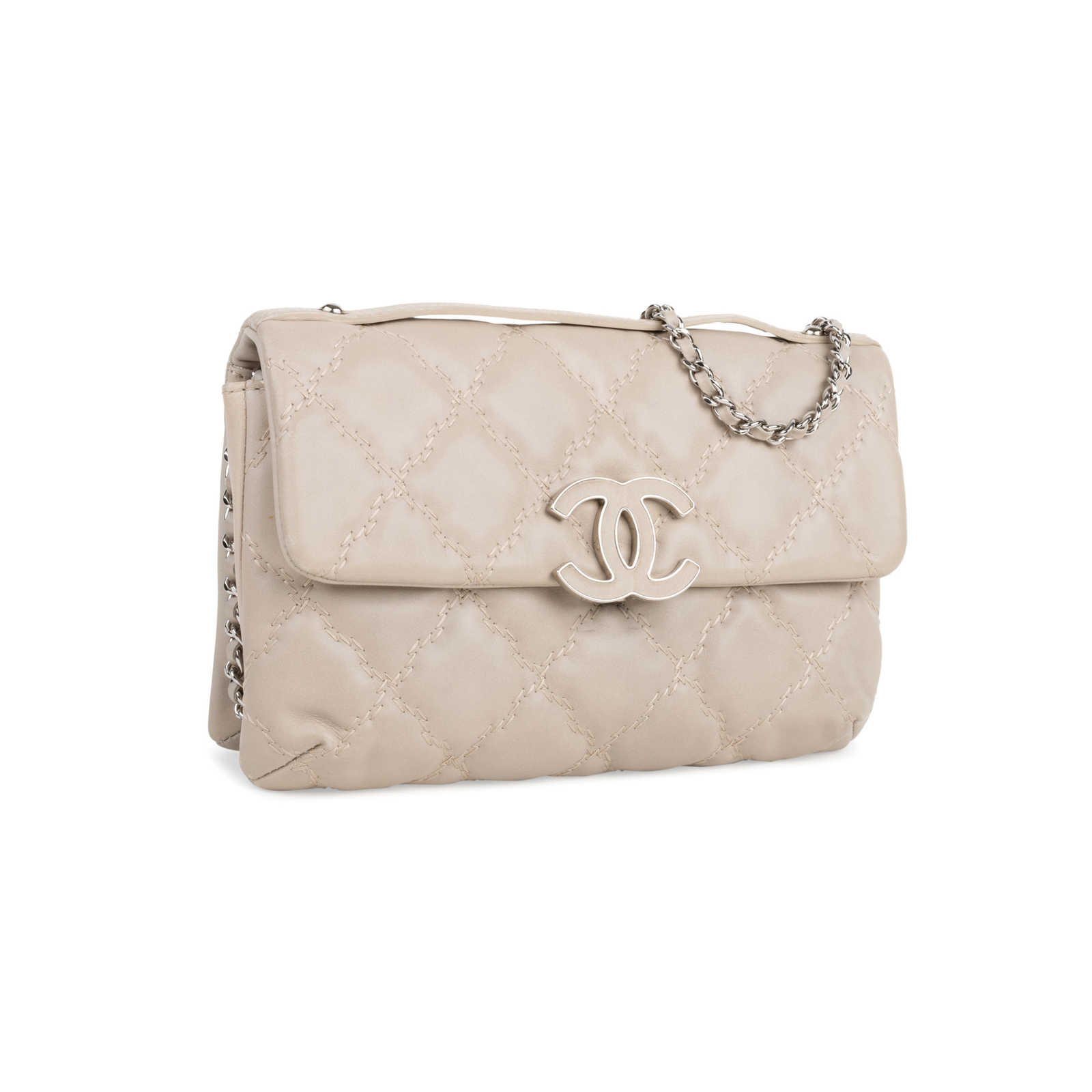 f5ec0ca94d0f ... Authentic Second Hand Chanel Quilted Stitched Clutch Bag  (PSS-424-00108) ...