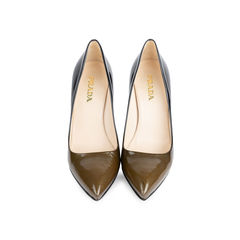 Ombre Patent Pumps