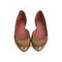 Authentic Second Hand Bottega Veneta Patent D'Orsay Flats (PSS-556-00013) - Thumbnail 0