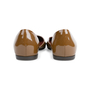 Authentic Second Hand Bottega Veneta Patent D'Orsay Flats (PSS-556-00013) - Thumbnail 5