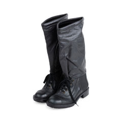 Chanel knee high boots 2?1542094172