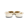 Authentic Second Hand Chanel Slingback Cap Toe Flats (PSS-575-00036) - Thumbnail 3
