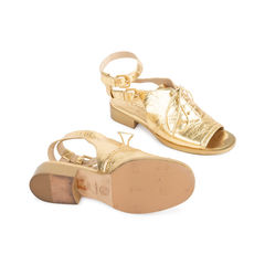Chanel metallic oxford sandals 2?1542094392