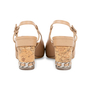 Authentic Pre Owned Chanel Cap Toe Slingback Sandals (PSS-575-00039) - Thumbnail 5
