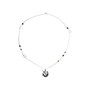 Authentic Pre Owned Chanel CC Logo Chain Globe Necklace (PSS-575-00041) - Thumbnail 1