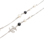 Authentic Pre Owned Chanel CC Logo Chain Globe Necklace (PSS-575-00041) - Thumbnail 2