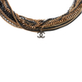 Authentic Pre Owned Chanel Two-Tone Multistrand Chain Necklace (PSS-575-00042) - Thumbnail 1