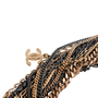 Authentic Second Hand Chanel Two-Tone Multistrand Chain Necklace (PSS-575-00042) - Thumbnail 3