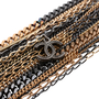 Authentic Second Hand Chanel Two-Tone Multistrand Chain Necklace (PSS-575-00042) - Thumbnail 4
