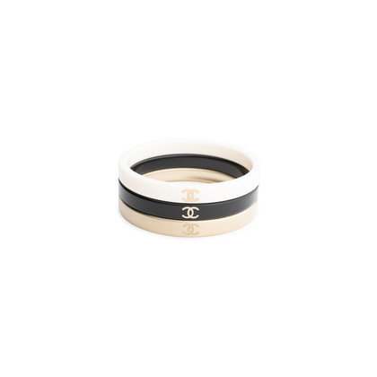 Authentic Pre Owned Chanel Three-Set Bangles (PSS-575-00043)