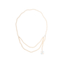 Authentic Pre Owned Chanel Enamel CC Pearl Necklace (PSS-575-00044) - Thumbnail 0