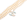 Authentic Pre Owned Chanel Enamel CC Pearl Necklace (PSS-575-00044) - Thumbnail 2