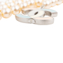 Authentic Pre Owned Chanel Enamel CC Pearl Necklace (PSS-575-00044) - Thumbnail 3
