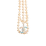 Authentic Pre Owned Chanel Enamel CC Pearl Necklace (PSS-575-00044) - Thumbnail 4