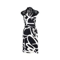 Olivier Lace Wrap Dress