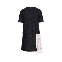 Msgm contrast panel lace dress 2?1542175788