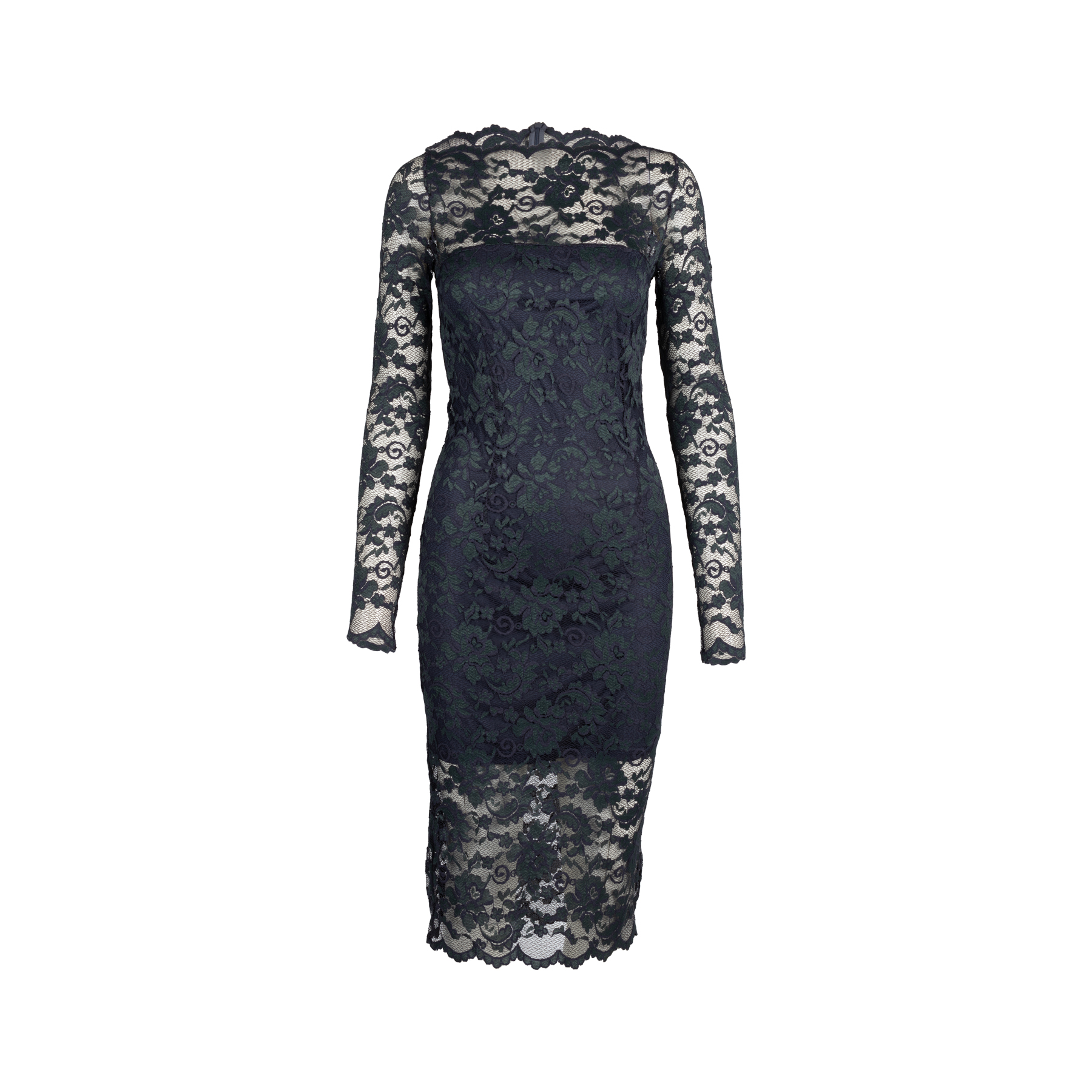d167a058 Authentic Second Hand Ganni Flynn Lace Dress (PSS-424-00111) | THE FIFTH  COLLECTION