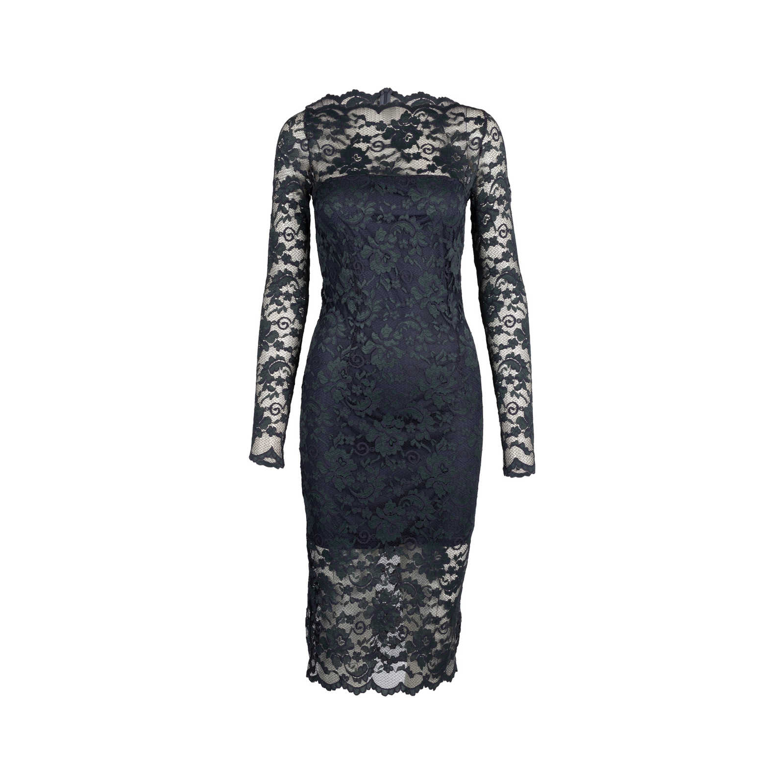 d5a9afef Authentic Second Hand Ganni Flynn Lace Dress (PSS-424-00111) - Thumbnail ...