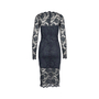 Authentic Second Hand Ganni Flynn Lace Dress (PSS-424-00111) - Thumbnail 1