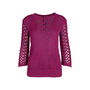 Authentic Second Hand Chanel Crochet Knit Sweater (PSS-575-00003) - Thumbnail 0