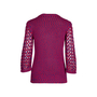 Authentic Second Hand Chanel Crochet Knit Sweater (PSS-575-00003) - Thumbnail 1