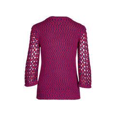 Chanel crochet knit sweater 2?1542176314