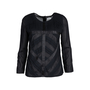 Authentic Second Hand Chanel Pleated Long Sleeved Blouse (PSS-575-00012) - Thumbnail 0