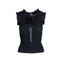 Authentic Second Hand Chanel Ribbed Knit Sleeveless Top (PSS-575-00021) - Thumbnail 0