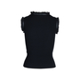 Authentic Second Hand Chanel Ribbed Knit Sleeveless Top (PSS-575-00021) - Thumbnail 1