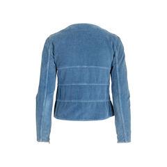 Chanel velvet jacket 2?1542177121