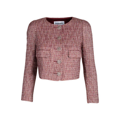 Authentic Pre Owned Chanel Cruise 2015 Tweed Jacket (PSS-575-00025)